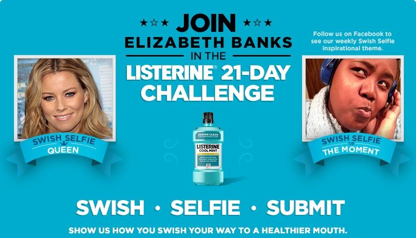 Listerine Facebook campaign